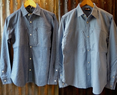 ROKX DENIM WESTERN SHIRT