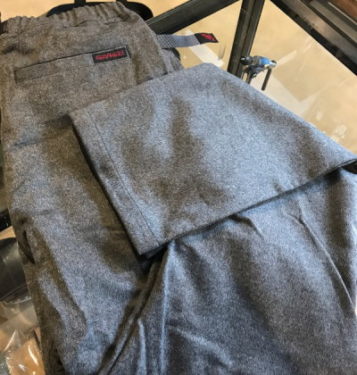 GRAMICCI WOOL NARROW PANTS