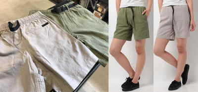 GRAMICCI W'S COTTON-LINEN ZIP G-SHORTS