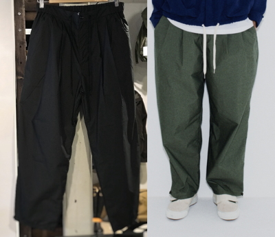 F/CE. WIDE EASY PANTS