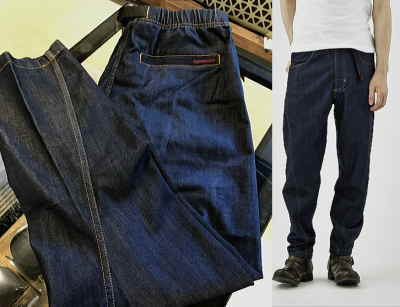 GRAMICCI DENIM DRAPING PANTS