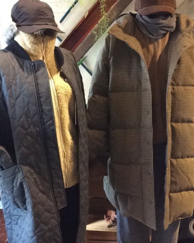 NATAL DESIGN DUDE DOWN COAT&F/CE PRIMALOFT WOOL MA-1