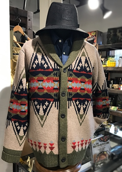 PENDLETON Journey East Shawl Collar Cardigan