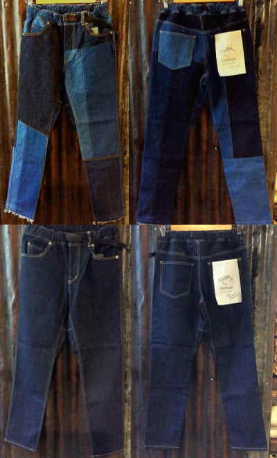 ROKX DOMINGO R:MAKE 5POCKET PANT&DENIM